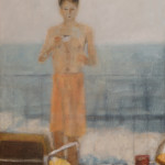 kl_swimmer_oil on canvas_600x450mm