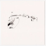 katrin coetzer_claremont station_ink on paper_150x150mm_framed_web