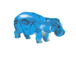 katrin coetzer_egyptian hippo_giclee print on Somerset Velvet_ed 12_189x153mm_unframed_web