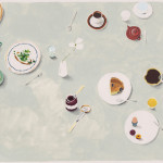 katrin coetzer_tea coffee and snacks_gouache on fabriano_225x310mm_framed_web