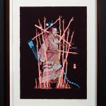 gerhard human_kabuki samurai_2014_archival print_ed of 15_594x420mm uf_645x475mm f_web