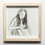 jade klara_girl doesnt care_2014_ink on hahnemuhle_220x220mm_framed_web