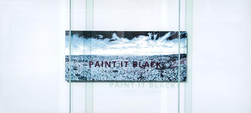 PAINT IT BLACK WINDOW