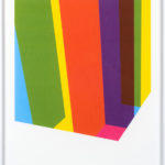 PIERRE LE RICHE. Colour Cage #3, 2016. Screenprint. Edition of 15. 715 x 505mm. Framed