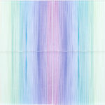 PIERRE LE RICHE. Hologram H4, 2016. Acrylic thread and perspex. 700 x 800 x 80mm