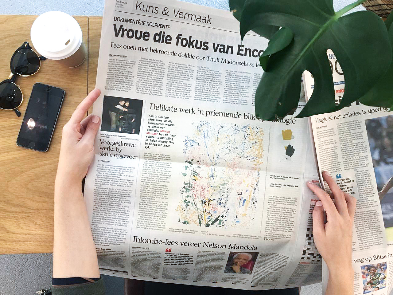 'Delikate werk 'n priemende blik op ekologie', Die Burger, 09 Mei, p6